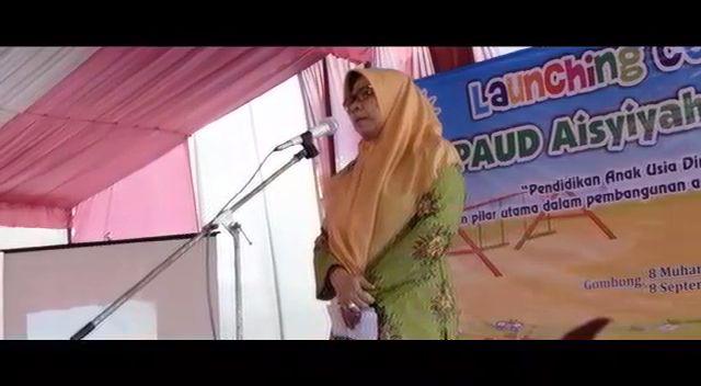 Peresmian PAUD Aisyiyah Gombong