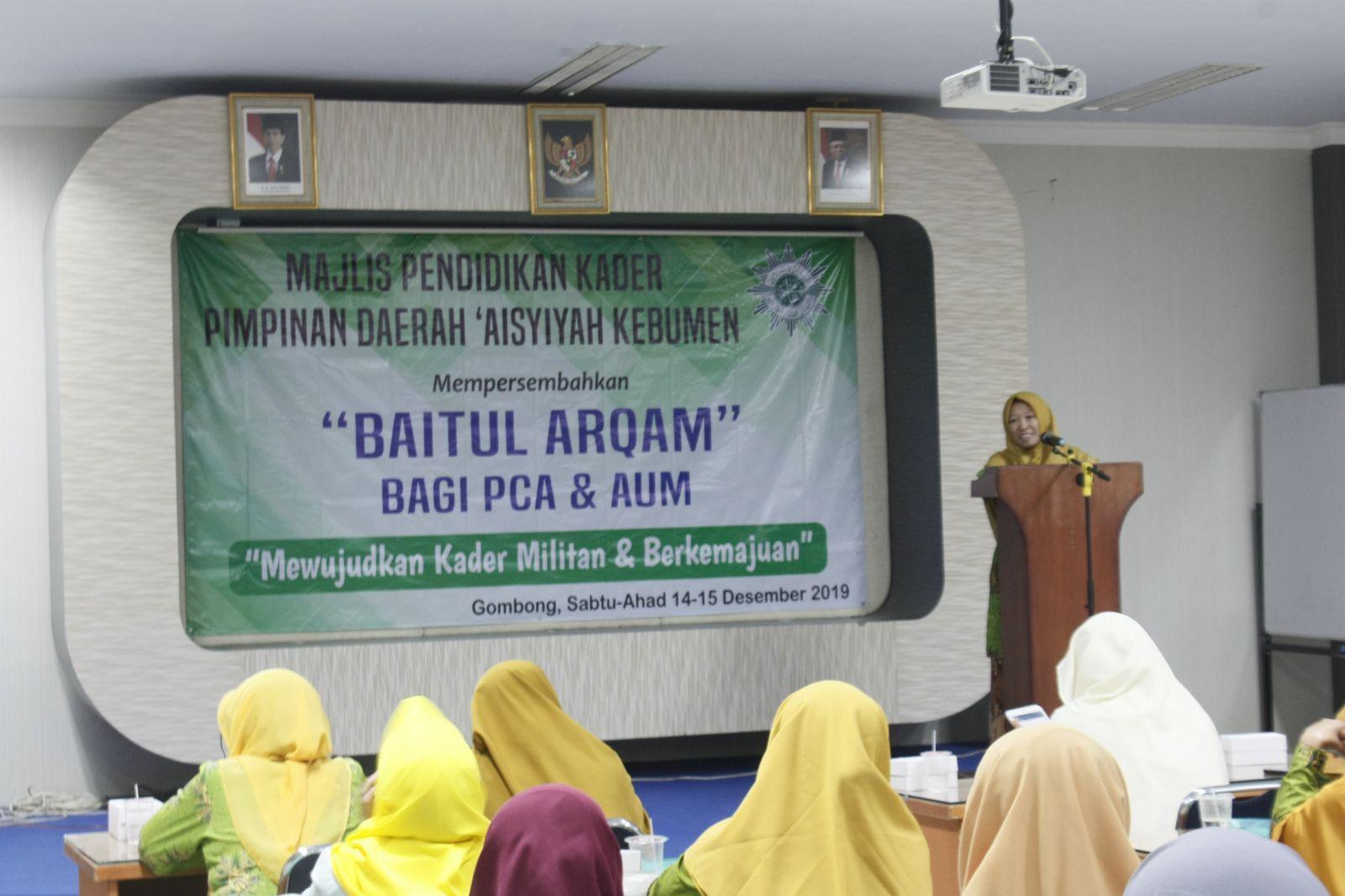 Pembukaan Baitul Arqam Lintas Fungsi Majlis PDA Kebumen